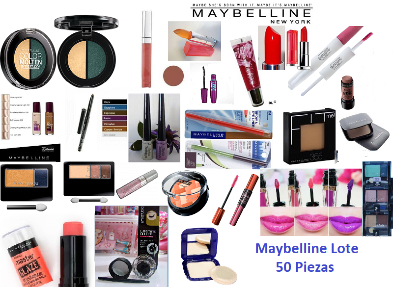 Lots Makeup Maybelline 50 pzs